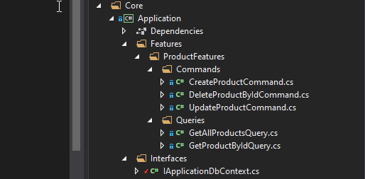 cqrs Onion Architecture In ASP.NET Core With CQRS - Detailed