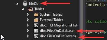 db File Upload in ASP.NET Core MVC - File System & Database