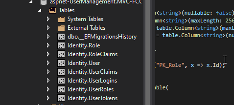 cleandb Custom User Management in ASP.NET Core MVC with Identity