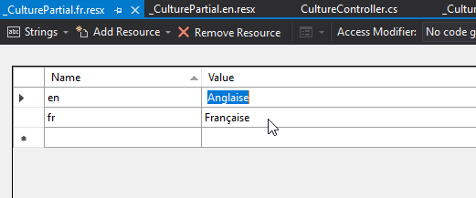 pa fr Globalization and Localization in ASP.NET Core - Detailed