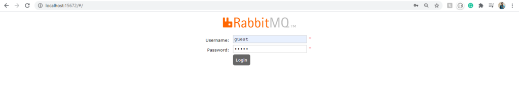 rabbitmq login RabbitMQ with ASP.NET Core - Microservice Communication with MassTransit