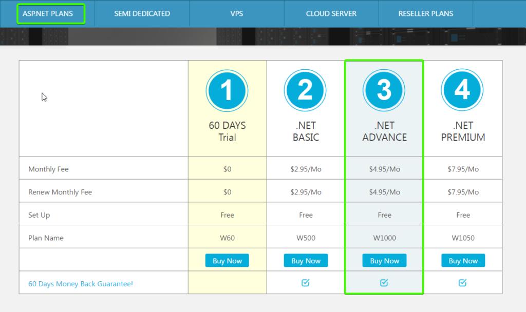 smarteraspnet core shared hosting Hosting ASP.NET Core with SmarterASP.NET - FREE 60 Days Trial!