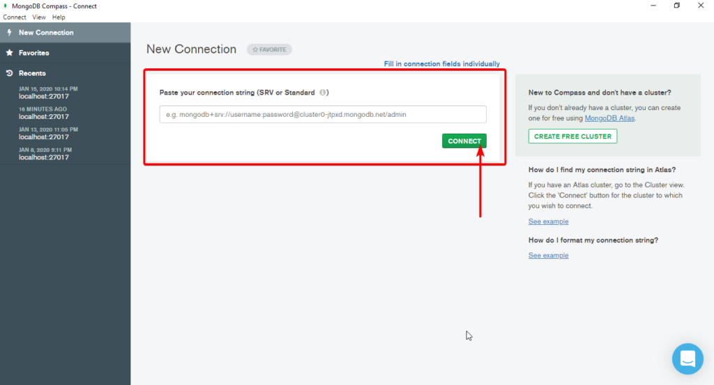 mongodb compass connect Working with MongoDB in ASP.NET Core - Ultimate Guide