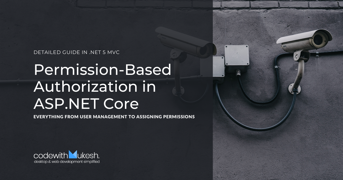 Permission-Based Authorization in ASP.NET Core